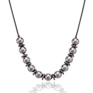Kenneth Cole Pearl Adjustable Slider Necklace